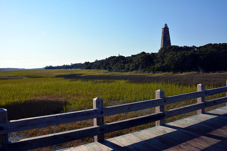 Old Baldy Lighthouse, Bald Head Island NC